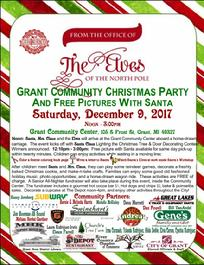 City of Grant Christmas Community Event Free Fun Magical Family Business